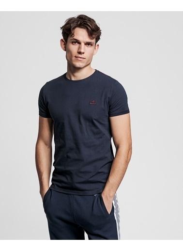 Gant Erkek Tshirt Lacivert